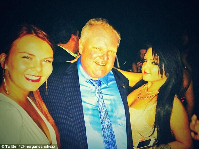 It's getting hot in here: Social media was set alight earlier this month when controversial Toronto mayor Rob Ford showed up at popular nightclub Muzik in the capital