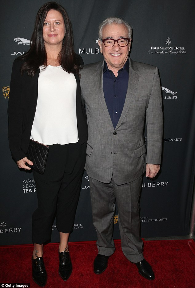 Legend: Director Martin Scorsese attended the event with producer Emma Tillinger Koskoff