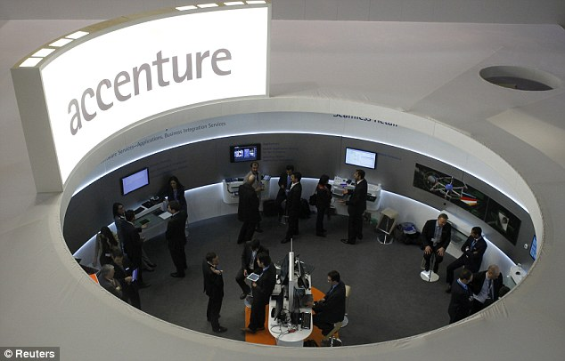 New partnership: Accenture will take over from CGI Group in March 2014