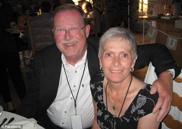 Lee Ballantyne, the grieving husband who paid for a young couple's dinner last week in Barrie, Ontario, because they reminded him of his recently deceased wife Carol, has modestly described his kind-hearted act as a 'selfish' gesture so he would feel better