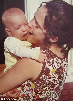 In another post, Jason, pictured here as a baby, explained that he had written about his mom's death because it helped him 'process his feelings'
