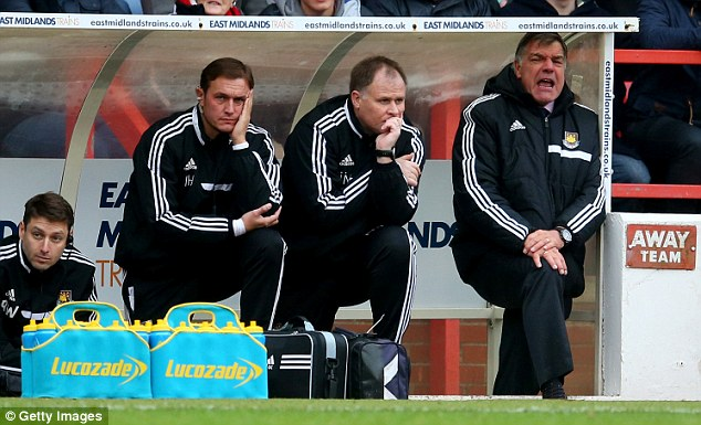 Think! Despite bad results recently, the compensation money to sack Allardyce is better spent on signings