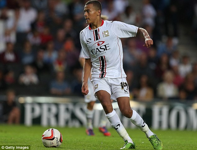 Target: MK Dons midfielder Dele Alli has been watched by Liverpool's scouts