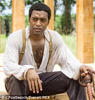 Top prize: Chiwetel Ejiofor in 12 Years A Slave