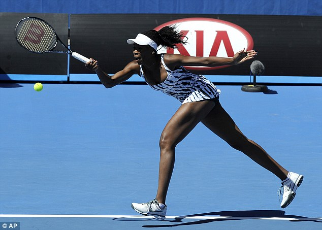 Exit: It is just the second time that Williams has lost in the first round of the Australian Open