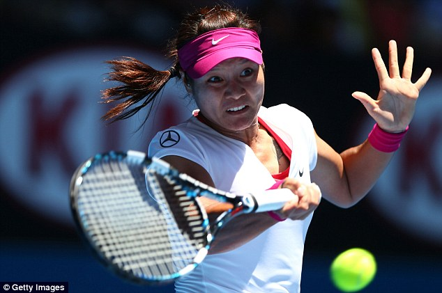 Quick work: China's Li Na booked a place in the second round in just 61 minutes