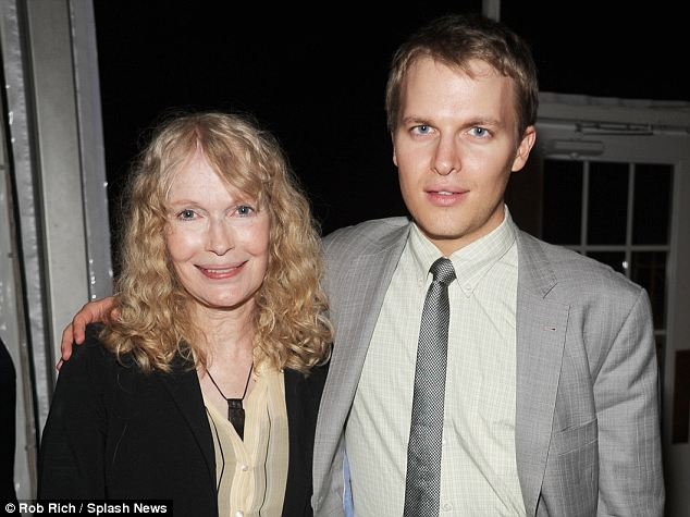 Lashing out: Ronan and Mia Farrow, pictured in May 2012, slammed Woody Allen on Twitter on Sunday and his mother continued the fight on Monday