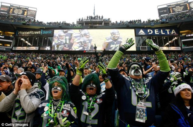 Earthquake: Fans of the Seattle Seahawks managed to cause a magnitude 1 or 2 earthquake while celebrating a fourth quarter Marshawn Lynch touchdown