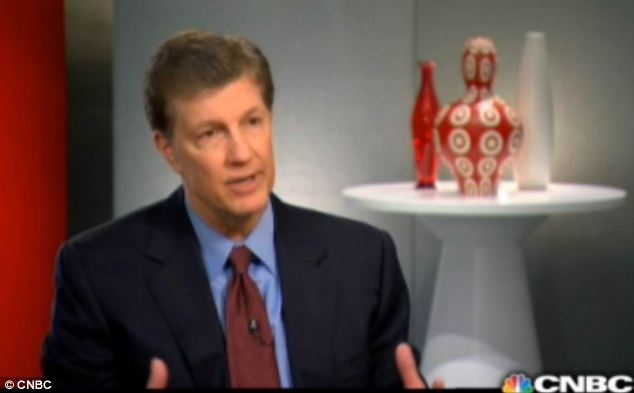 Apologetic: Gregg Steinhafel, Target's chairman, president and CEO, has revealed in an interview that the company does not know the full extent of the data breach across stores last month