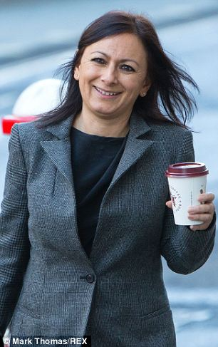 Rebekah Brooks' former personal assistant Cheryl Carter outside the Old Bailey, London, 13 Jan 2014