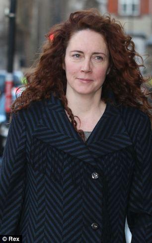 Rebekah Brooks outside the Old Bailey, London, 13 Jan 2014