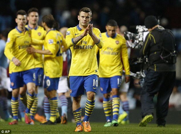 Better himself: Wilshere said that he wants to create and score more goals for Arsenal and England