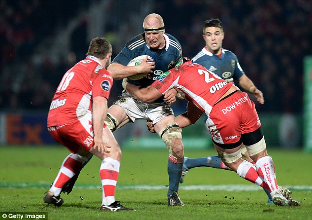 Veteran: Munster's second row Paul O'Connell has been urged to resolve his club future before the Six Nations