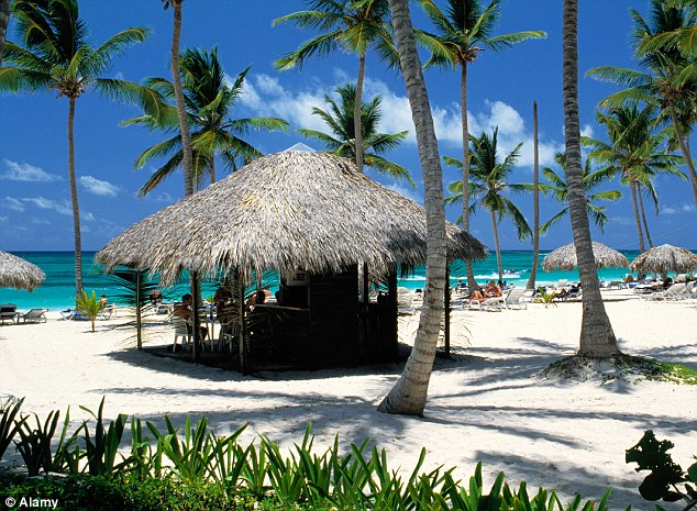 Escape to paradise: They booked flights to the Dominican Republic online