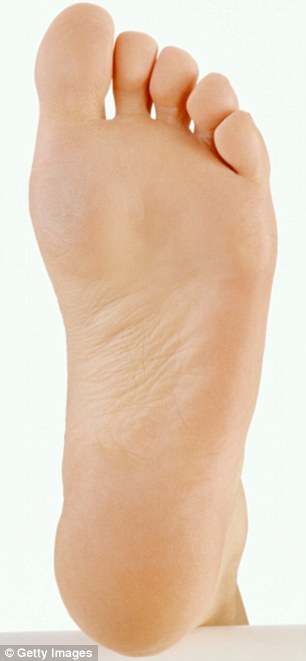 With increasing age the tendon tends to become stretched and the arch starts to flatten