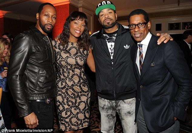 Strike a pose: RZA, Aisha Taylor, Method Man, Orlando Jones look happy and relaxed at the bash