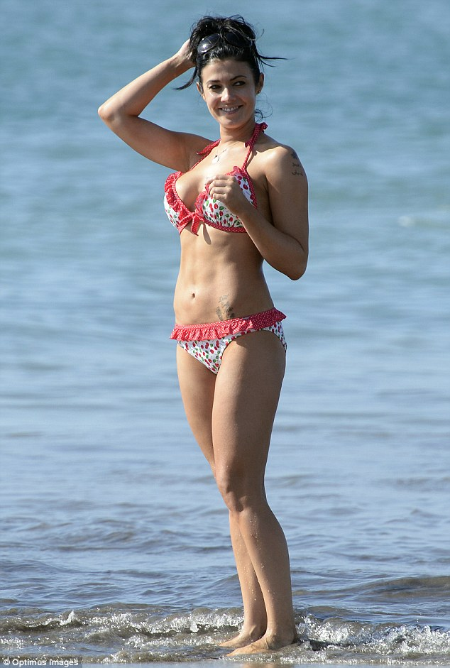 Look at what you're missing, Jamie: It would seem the heartbreak diet has been working wonders for Kym Marsh if her appearance on the beach in Tenerife last week is anything to go by