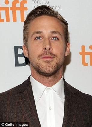 Flattering: Ricky's new look has led to comparisons to Hollywood heartthrob  Ryan Gosling