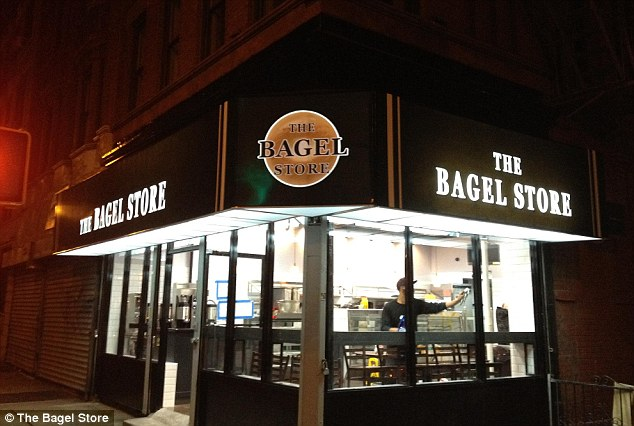 Local favorite: The Bagel Store has two branches in Williamsburg, Brooklyn