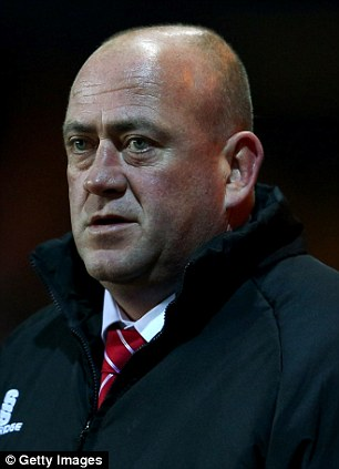 Andy Thorn manager of Kidderminster Harriers