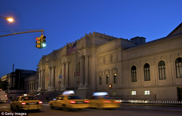 New York's Metropolitan Museum of Art (pictured) will exhibit the cards from January 24