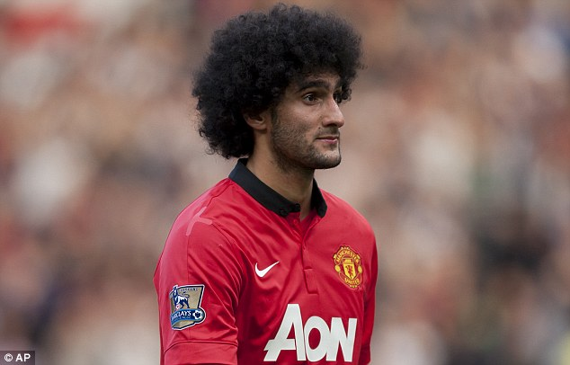 Sold: Everton are reluctant to sell Leighton Baines, unlike Marouane Fellaini, who left for Manchester United