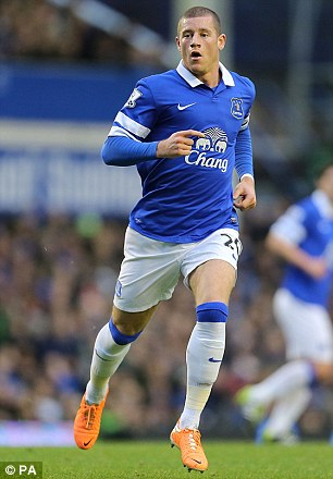 New contracts? Seamus Coleman (left) and Ross Barkley (right) are both important to Everton