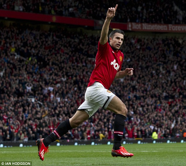 Team player: Vorm says Van Persie is a player who does the most for his team