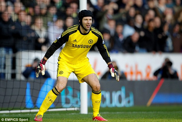 Mr Reliable: Vorm believes Chelsea's Petr Cech is one of the best goalkeepers in the world