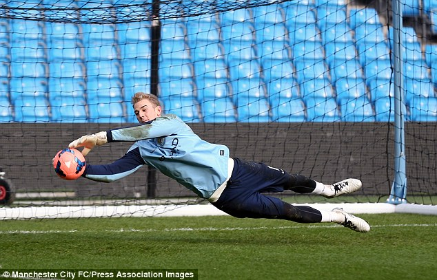 Proving his worth: Joe Hart has come back stronger after being dropped by Manchester City