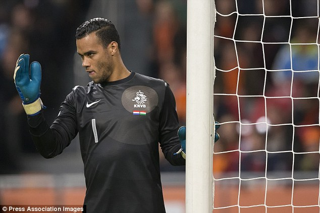 Eyes on the prize: Vorm wants to get back in fit and in form in time for the World Cup in Brazil