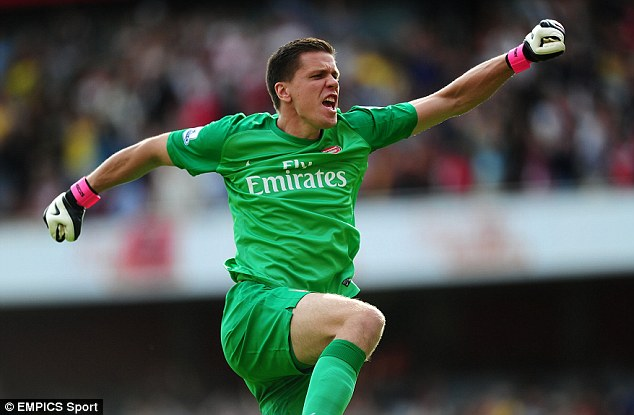 Season to remeber: Wojciech Szczesny is showing that Arsenal were right to stick with him as No 1