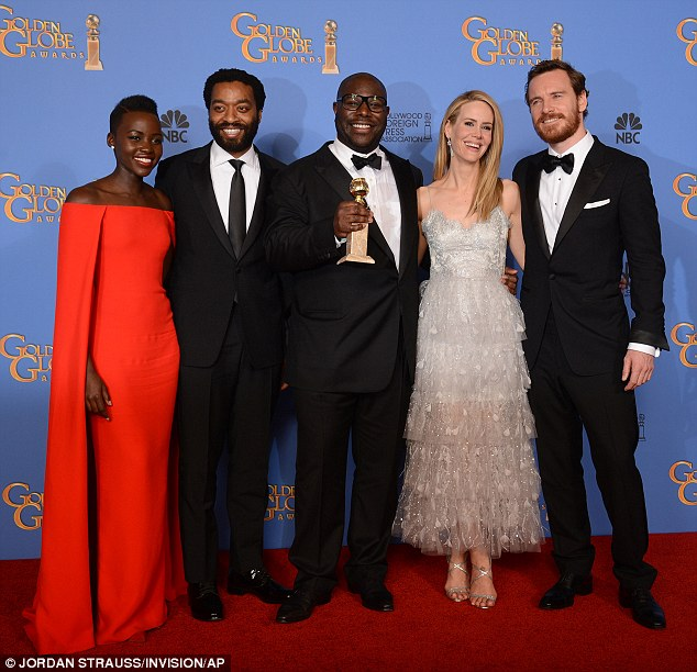 SAG Awards on Saturday! The Yale School of Drama grad is also up for an ensemble award along with her 12 Years a Slave cast-mates