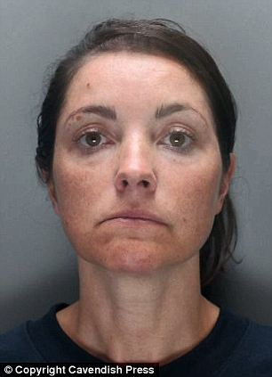 After she choked her mother, for a drive in her car wearing only pyjamas and an overcoat