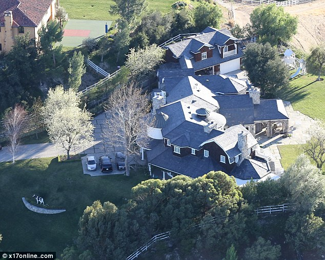 Hidden Hills: The area has previously boasted celebrity residents including John Mayer, Matt LeBlanc and the Kardashians