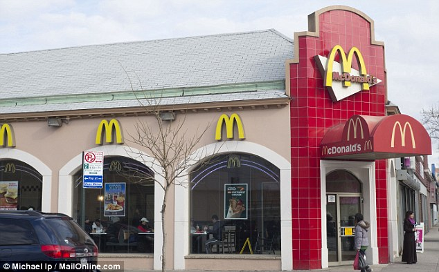 The McDonald's in Flushing is the popular hang-out spot for some of the elderly Korean community in the area
