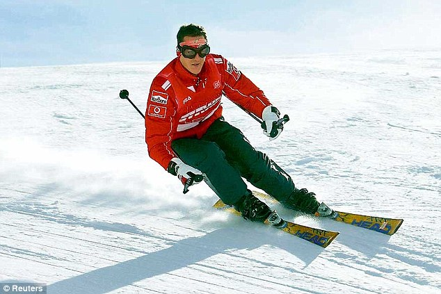 Fearing the worst: German media has been speculating that Michael Schumacher may never come out of his coma after speaking to experts about the progress of his condition following his skiing accident last month