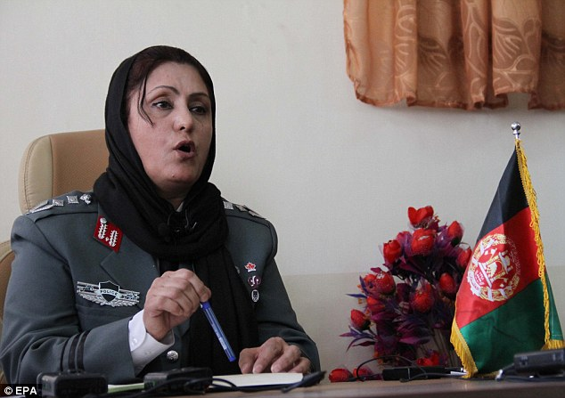 Important role: Colonel Jamila Bayaz will run one of the city's most important police