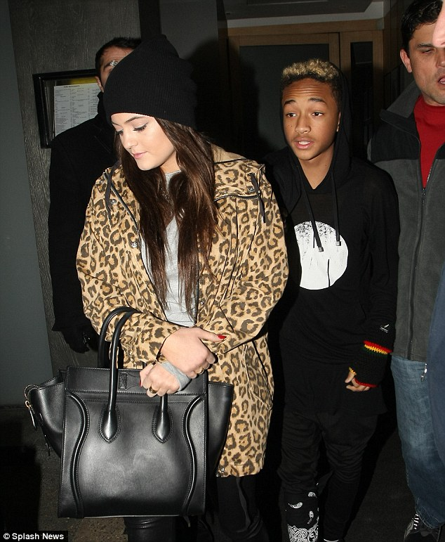 Insists she's single! Jenner has been long rumoured to be dating her BFF, Jaden Smith