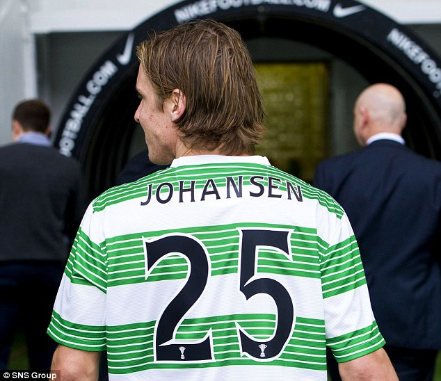 Remember the name: Johansen worked hard to make it as a professional footballer and is determined to be a success at Celtic