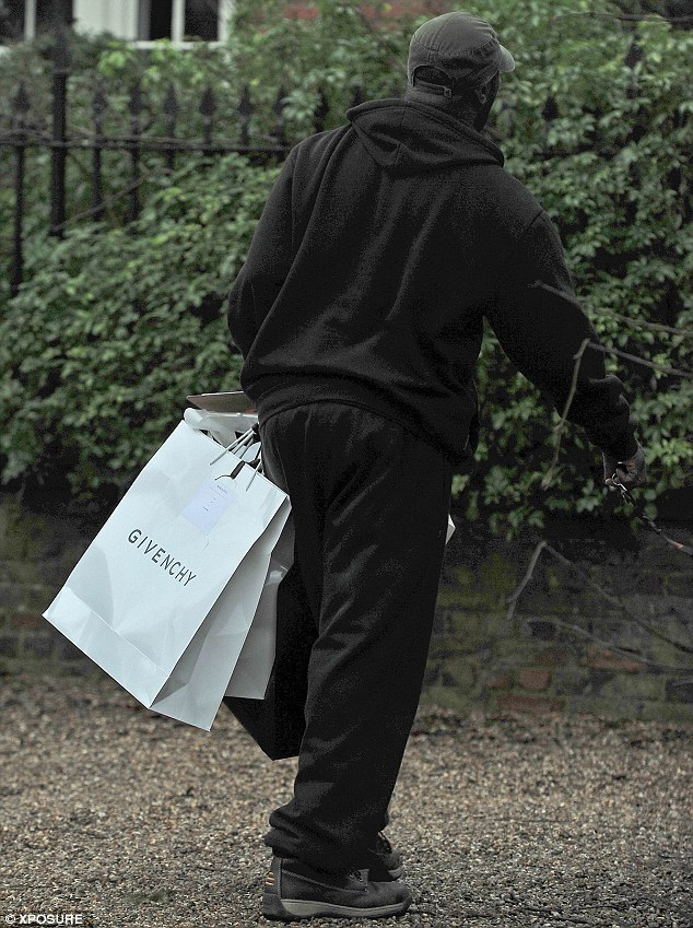 What a treat: Designer gift bags, including one from Givenchy also arrive