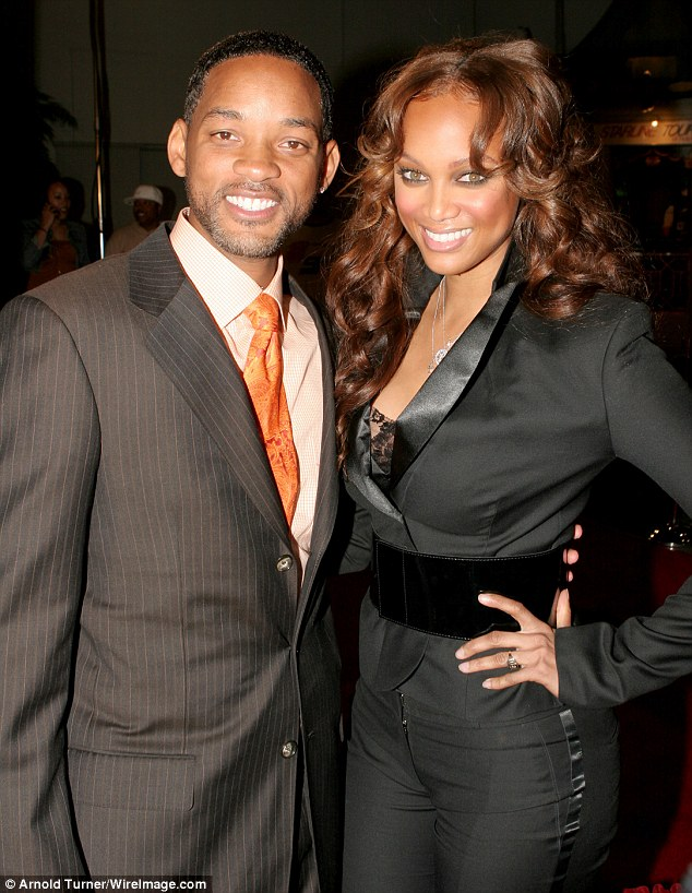 Notoriously private: The America's Next Top Model creator and host was said to have dated The Fresh Prince Of Bel-Air co-star Will Smith (pictured together in 2006) and singer Seal during the '90s