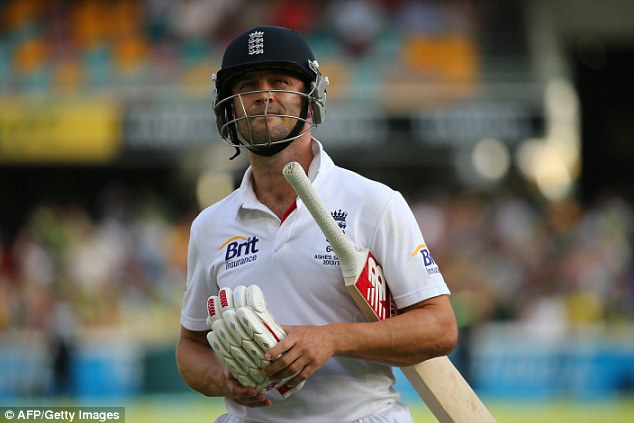 Long road back: But Jonathan Trott is said to be recovering well from his stress-related illness