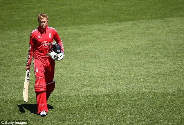 Stuck in a rut: Joe Root's place is under serious for the first time since his debut