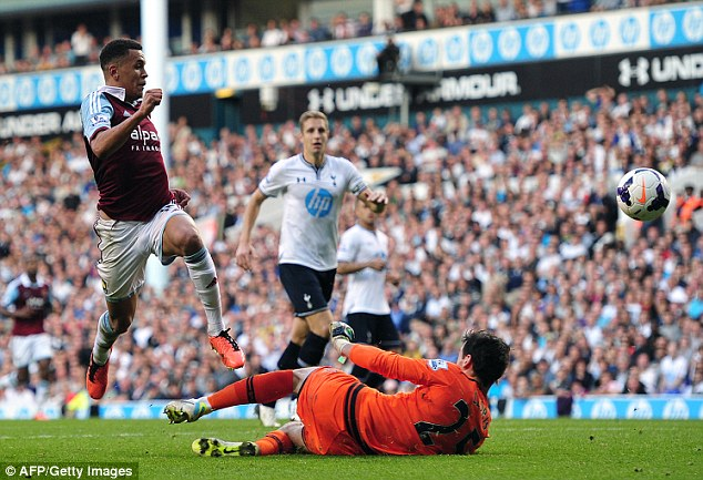 Hot property: Morrison scored a wonderful individual goal against Spurs earlier this season