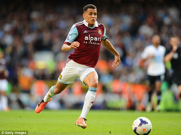 Staying put (but for how long?): Fulham have had a bid rejected for West Ham youngster Morrison