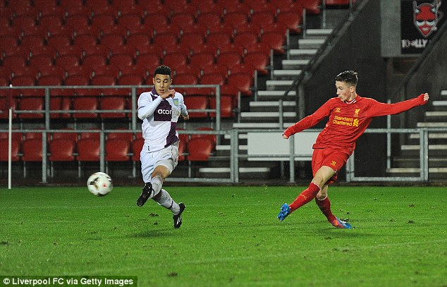 Future star: The 16-year-old has drawn comparisons with Gareth Bale and Ryan Giggs
