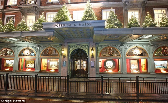 Fortnum's had a brilliant Christmas period, and in the five weeks up to 5 January sales were up 16 per cent