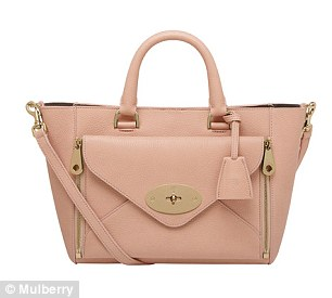 Her Mulberry Willow bag is still on sale at £1,350