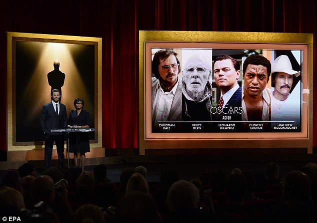The nominations: Chris Hemsworth announced the names of the Oscar nominees on Thursday morning